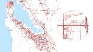 Karten durch Tesla Autopilot