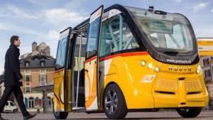 Autonomer Elektrobus, kurz der Auto-Bus